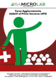 AGGIORNAMENTO APS - Corso di Aggiornamento Addetti al Primo Soccorso (APS) @ Cascina Amata di Cantù (CO)