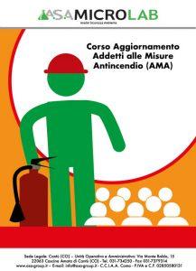 AGGIORNAMENTO AMA - Corso di Aggiornamento Addetti alle Misure Antincendio @ Cascina Amata di Cantù (CO)