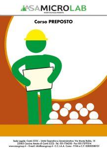 PREPOSTO - Corso per Preposto e Aggiornamento Preposto @ Cascina Amata di Cantù (CO)