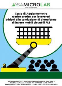 PLE 2 - AGG PLE - Corso teorico-pratico per lavoratori addetti alla conduzione di piattaforme di lavoro mobili elevabili 2° Giornata e Aggiornamento @ Cascina Amata di Cantù (CO)