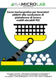 PLE 1 - Corso teorico-pratico per lavoratori addetti alla conduzione di piattaforme di lavoro mobili elevabili 1° Giornata @ Cascina Amata di Cantù (CO)