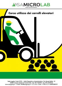 CAR 1 - Corso utilizzo dei carrelli elevatori 1° Giornata @ Cascina Amata di Cantù (CO)